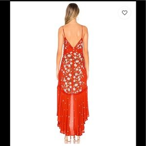 Free People Dresses - NWT Paradise Printed Maxi Dress in Red Free People